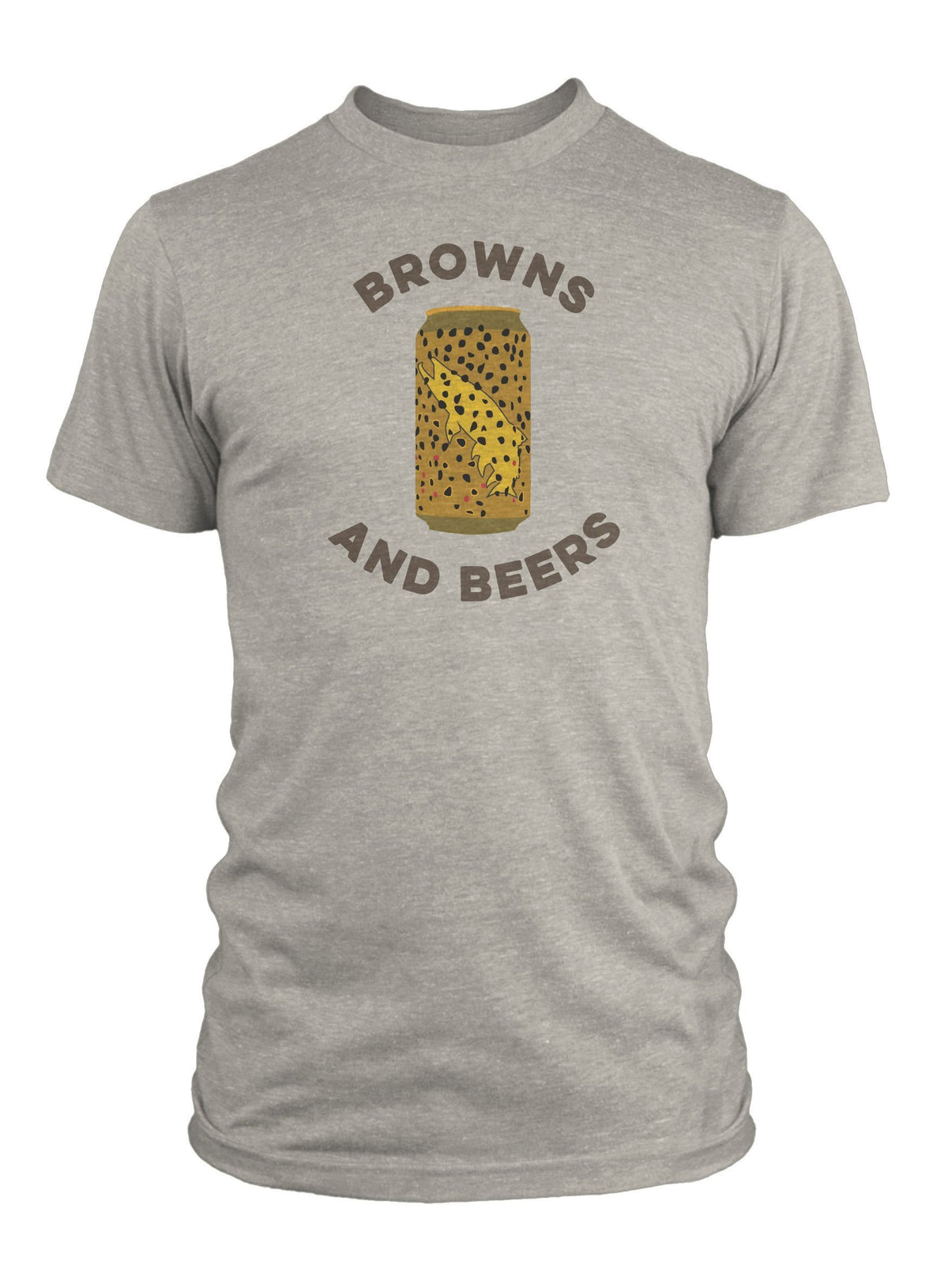RepYourWater Browns and Beers SS Tee Shirt Front