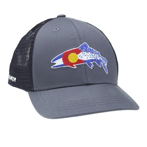 RepYourWater Colorado Clarkii Hat COCL51 Grey Black