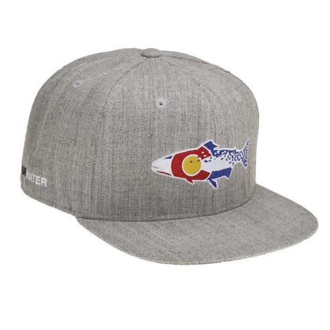 RepYourWater Colorado Cutthroat Hat Full Heather