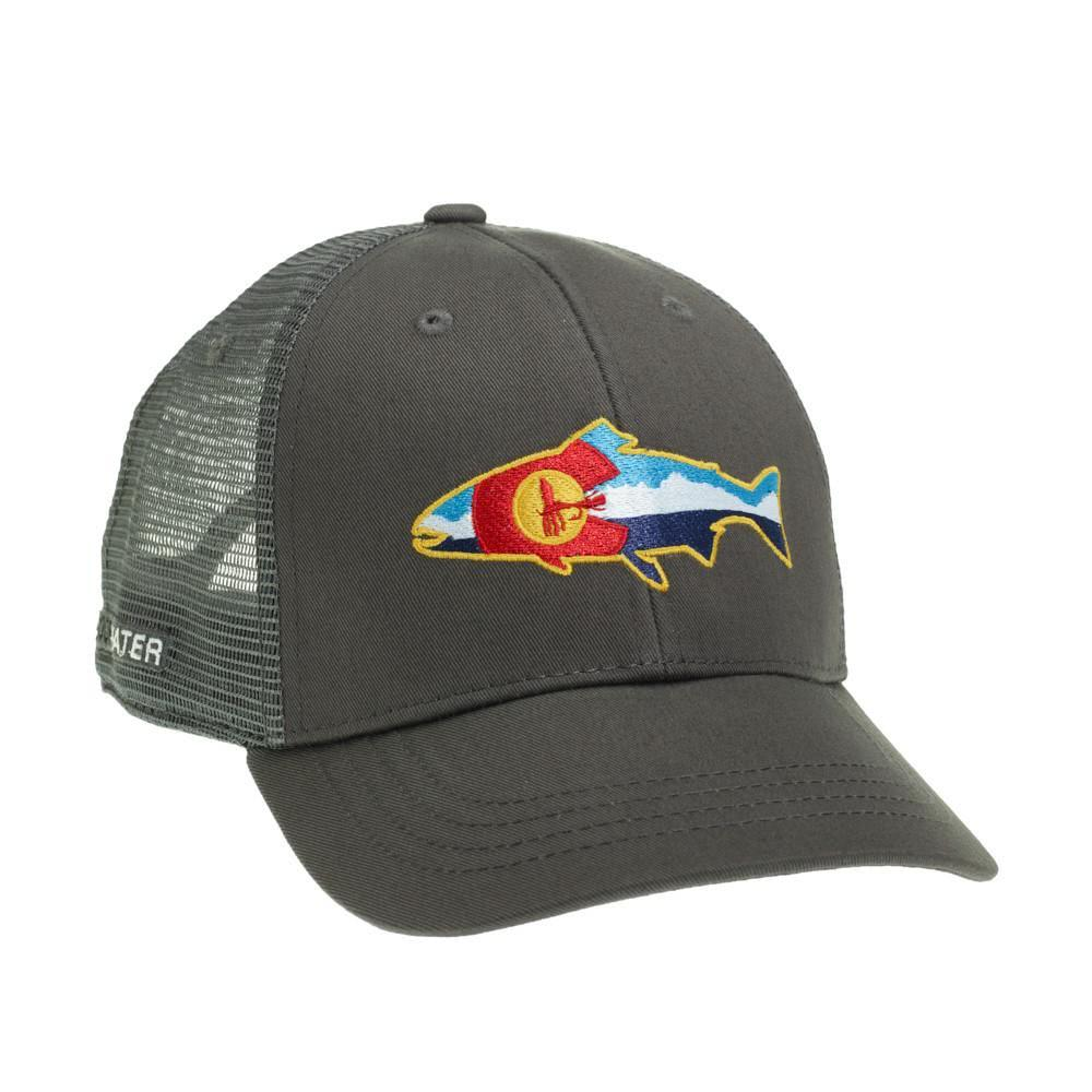 RepYourWater Colorado Fly and Mountains Hat COFM51