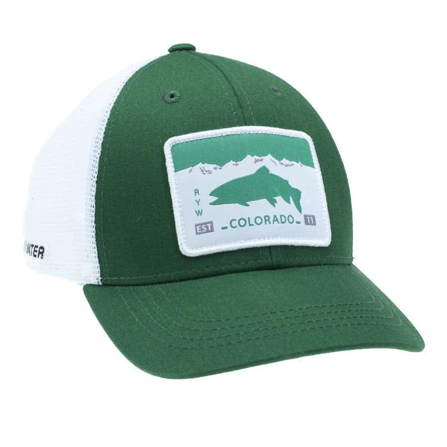 RepYourWater Colorado License Plate Hat