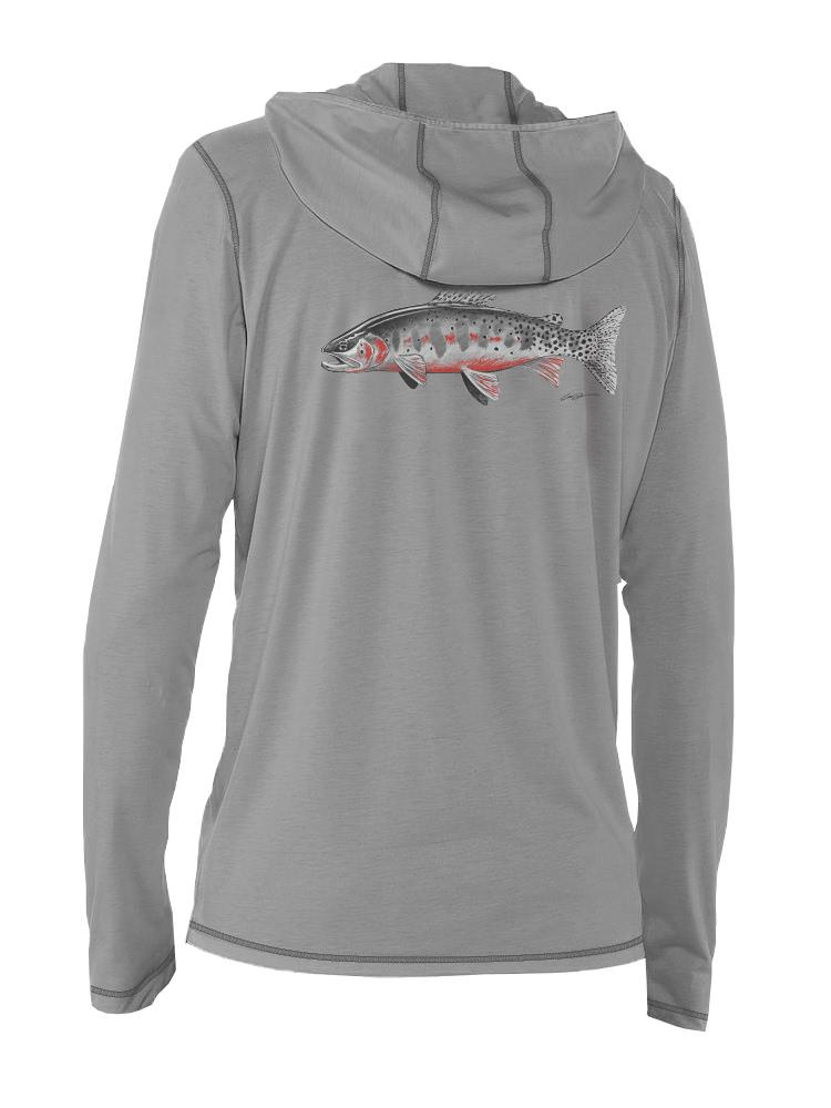 RepYourWater High Country Cutthroat Sun Hoody Limited Edition Artist Reserve Collection Back