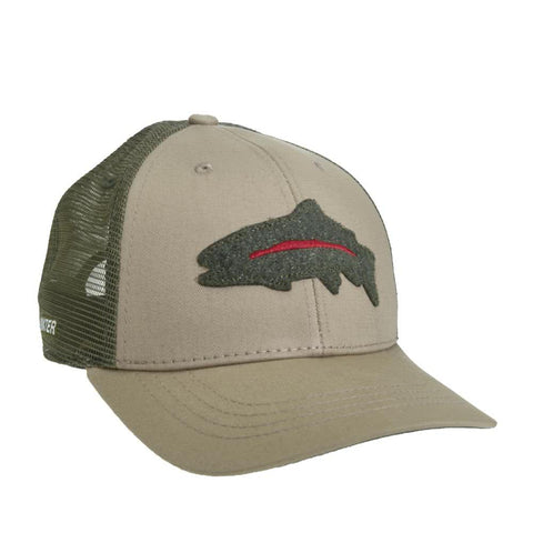 RepYourWater Rainbow Fly Patch Hat