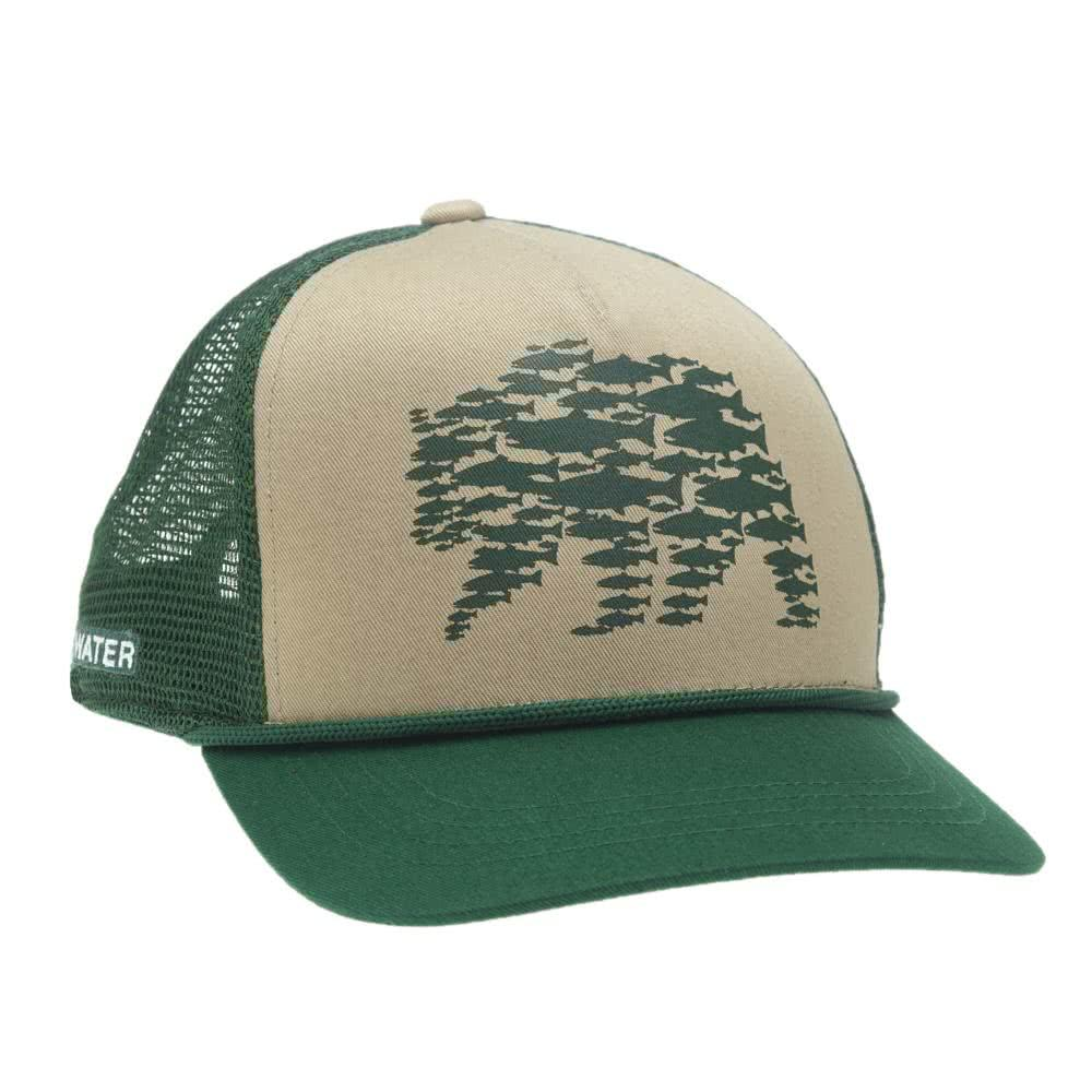 RepYourWater River Griz 5 Panel Hat
