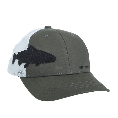 e134e3d0c678d RepYourWater Trout Fly Patch Hat