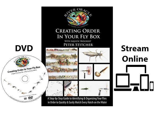 River Oracle Creating Order In Your Fly Box DVD Front Cover
