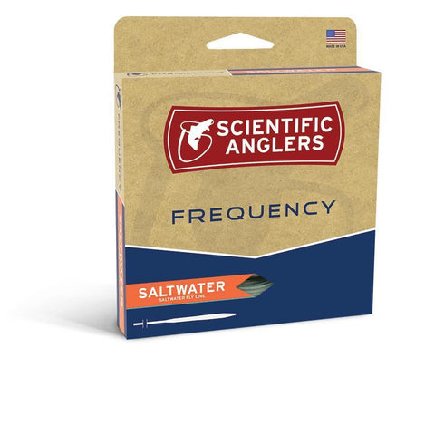 Scientific Anglers Frequency Saltwater Fly Line Box
