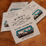 Sight Line Provisions Limited Edition Tectonic Rush Enamel Hat Badge