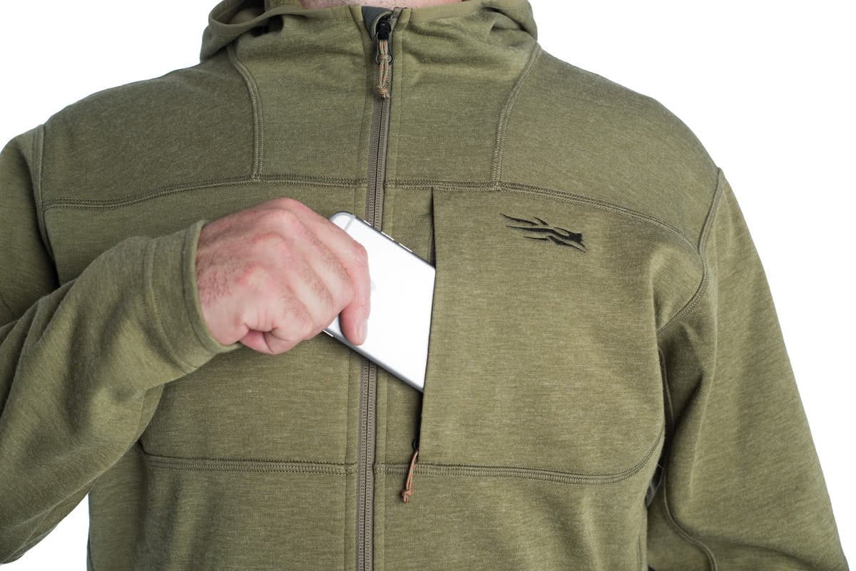 Sitka Camp Hoody Cargo TTW ZIPPERD HAND POCKETS AND CHEST POCKET