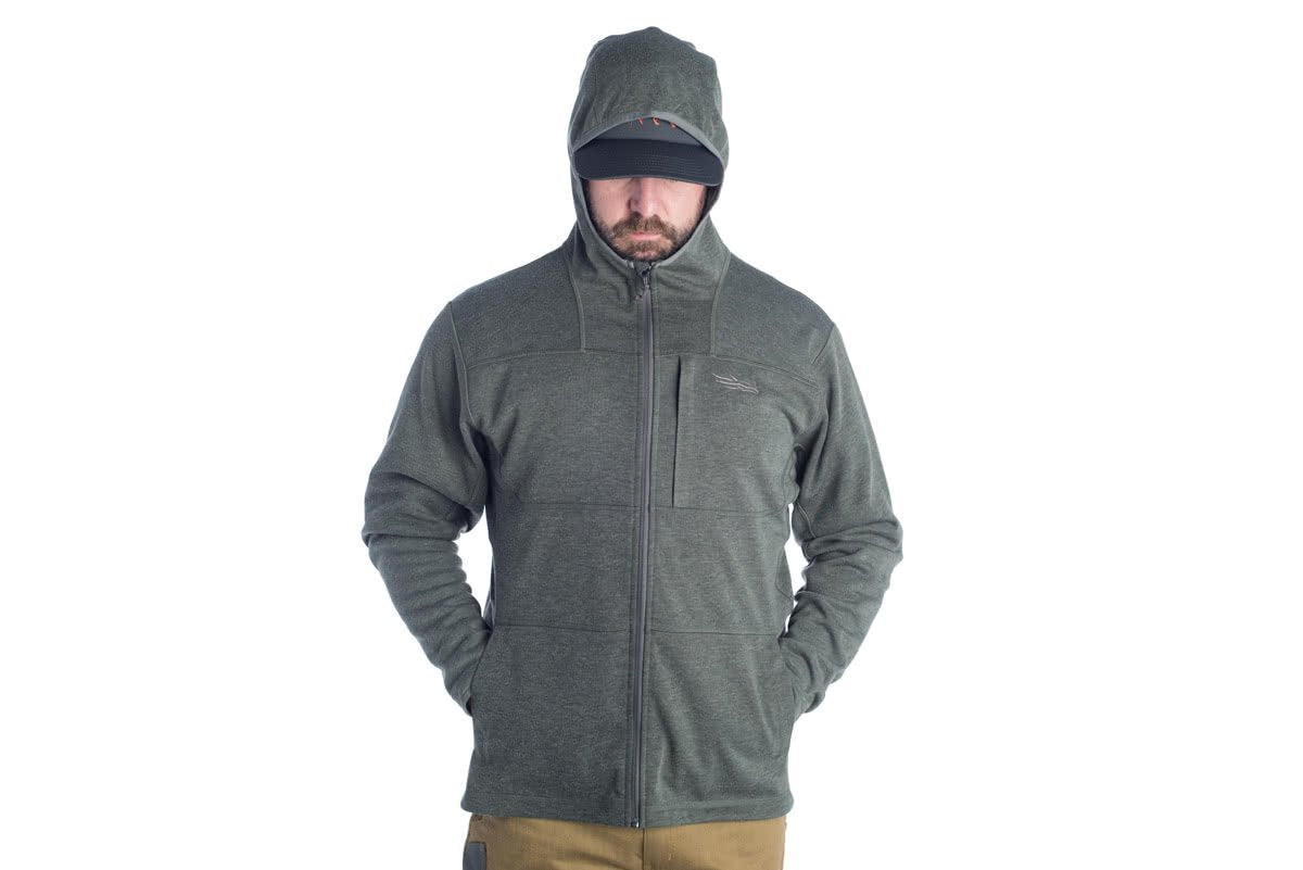 Sitka Camp Hoody Shadow TTW 3-PANEL LYCRA®-BOUND HOOD