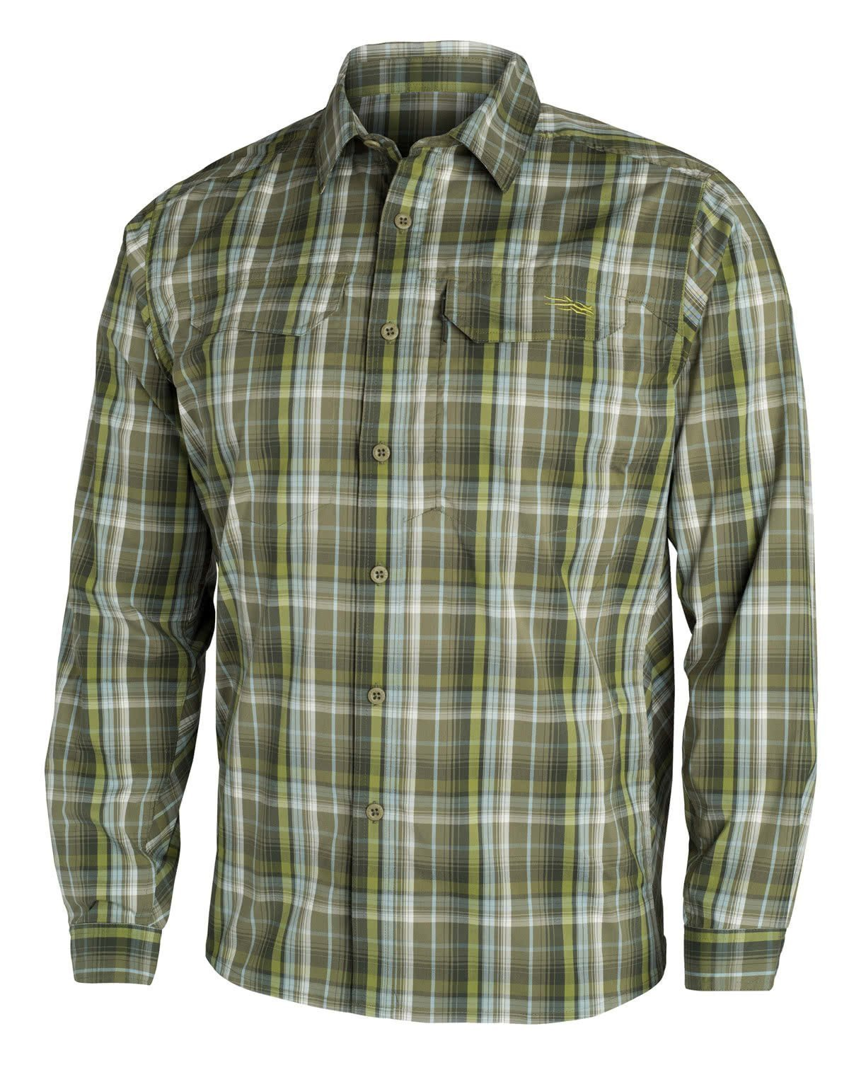 Sitka GlobeTrotter Shirt LS Cargo Plaid