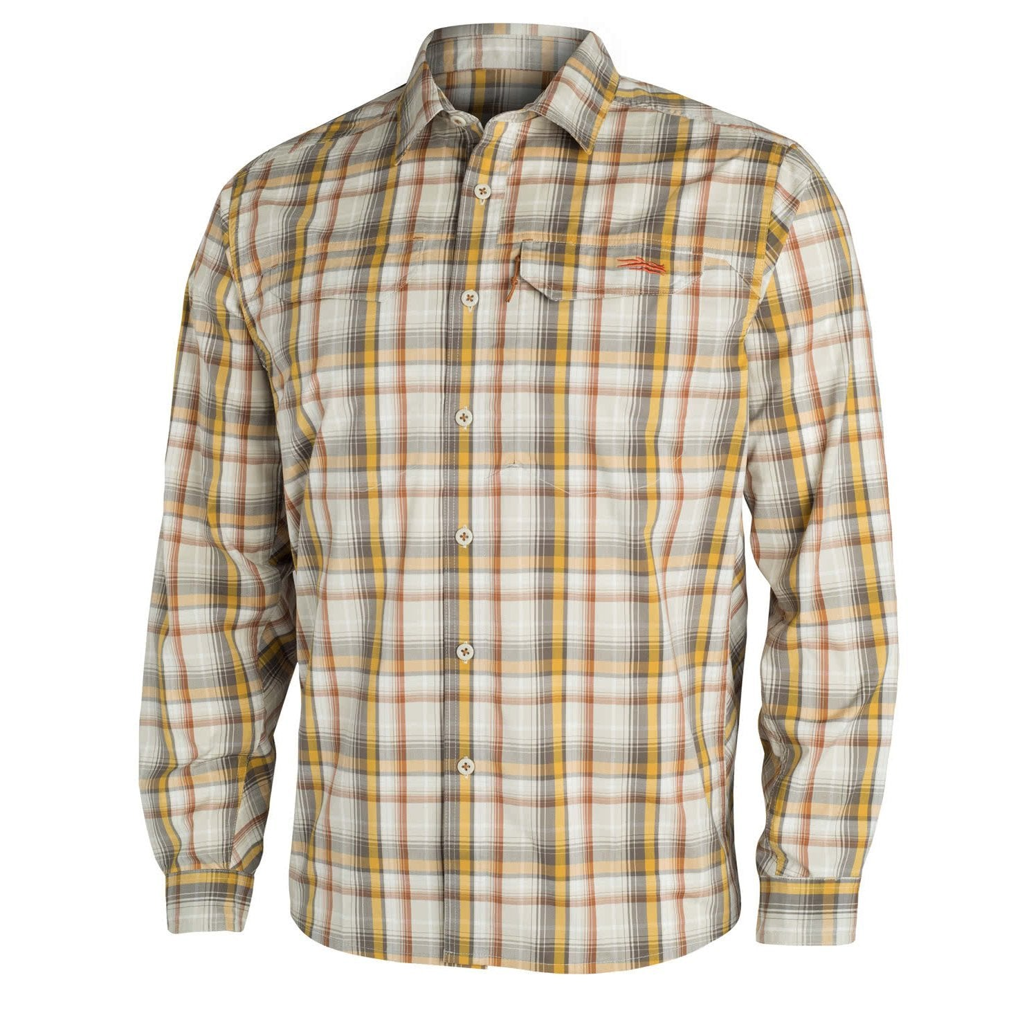 Sitka GlobeTrotter Shirt LS Sand Plaid