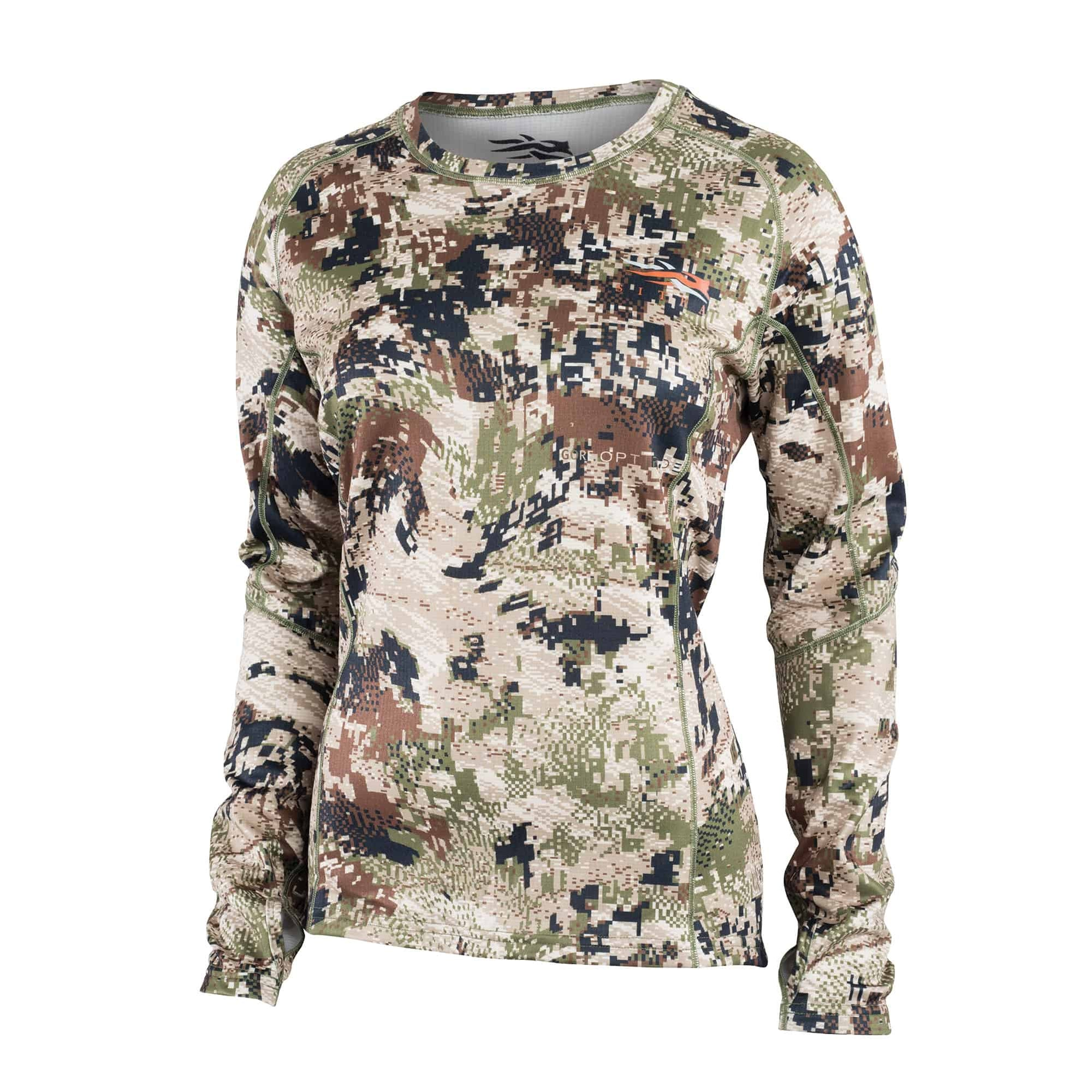 Sitka Womens Core Midweight Crew Long Sleeve 2019