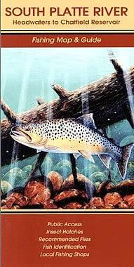 South Platte River Fishing Map - Headwaters to Chatfield Res