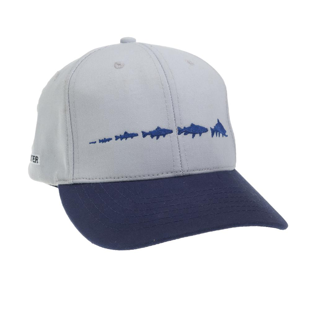 TRCY55 RepYourWater Trout Cycle Eco Twill Hat