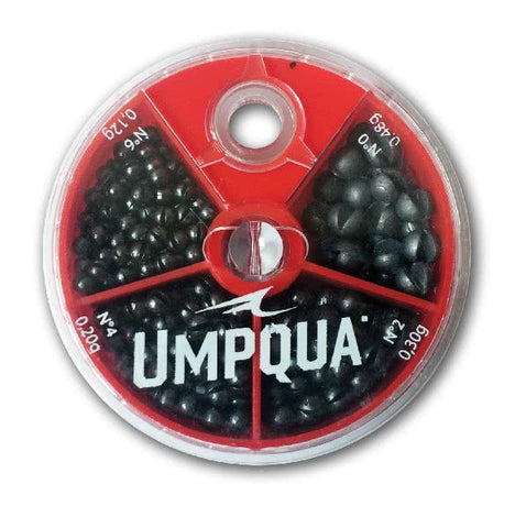 Umpqua 4 Way Split Shot Assortment