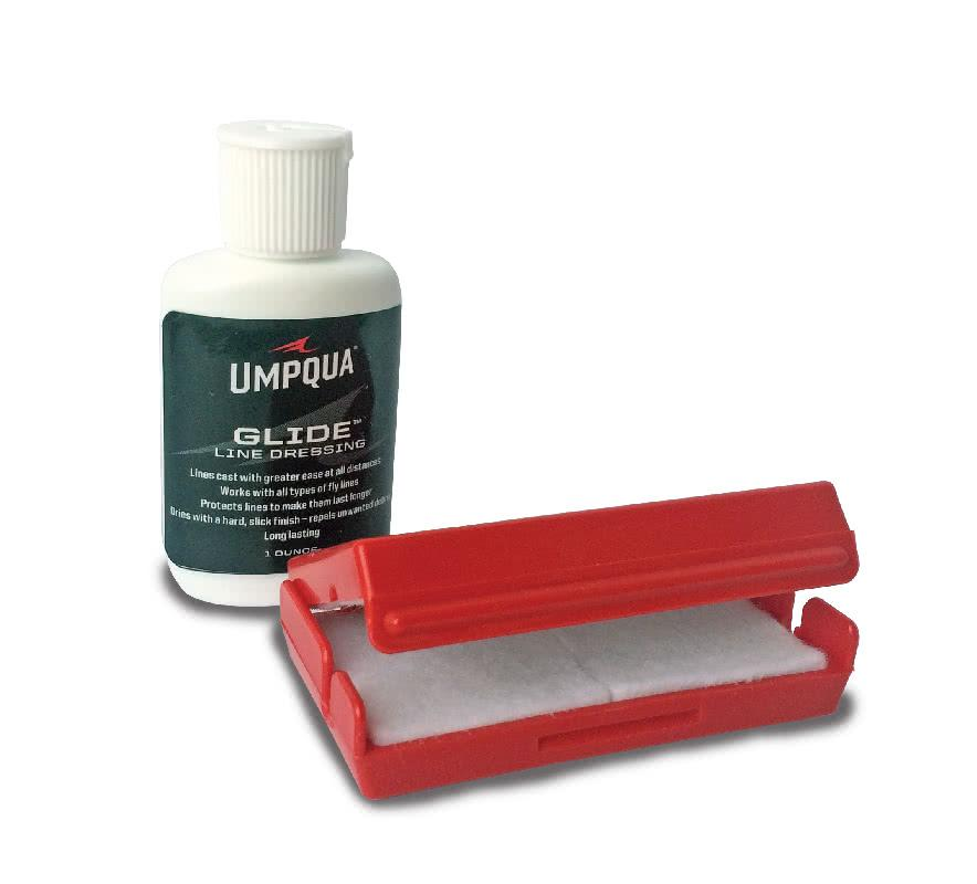 Umpqua Glide Line Dressing and Box