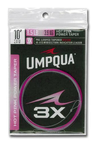 Umpqua HOT PINK POWER TAPER Leader