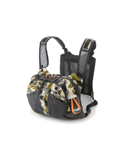Umpqua Overlook 500 Zero Sweep Chest Pack Kit Camo Front Loaded