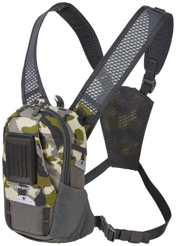 Umpqua Rock Creek Zero Sweep Fly Fishing Chest Pack Camo