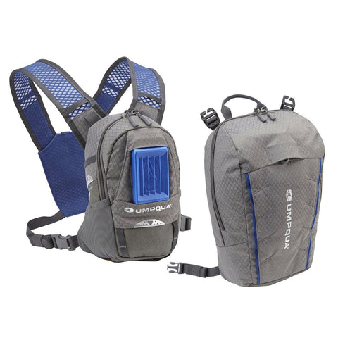 Umpqua Rock Creek Zero Sweep ZS Chest Pack Kit Granite