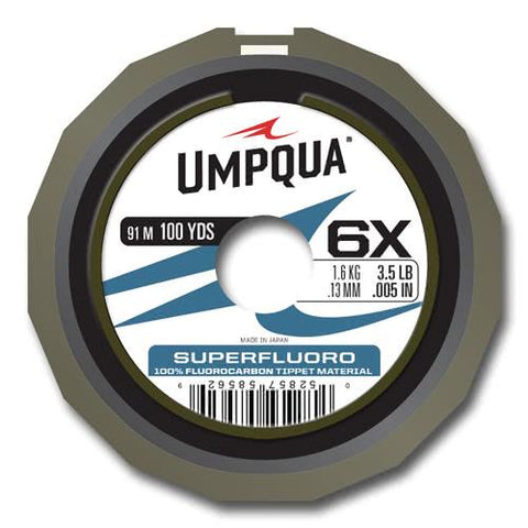 Umpqua SUPERFLUORO TIPPET Guide Spool 100YD