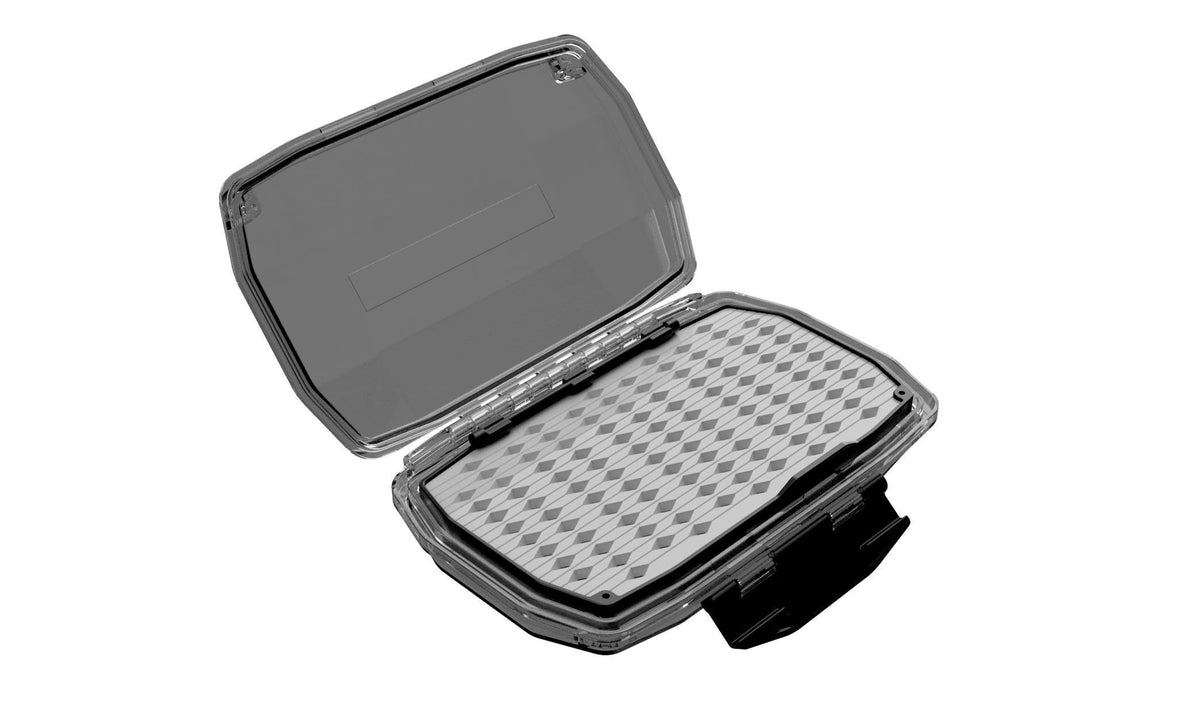 Umpqua UPG HD Medium Fly Box Gray Open