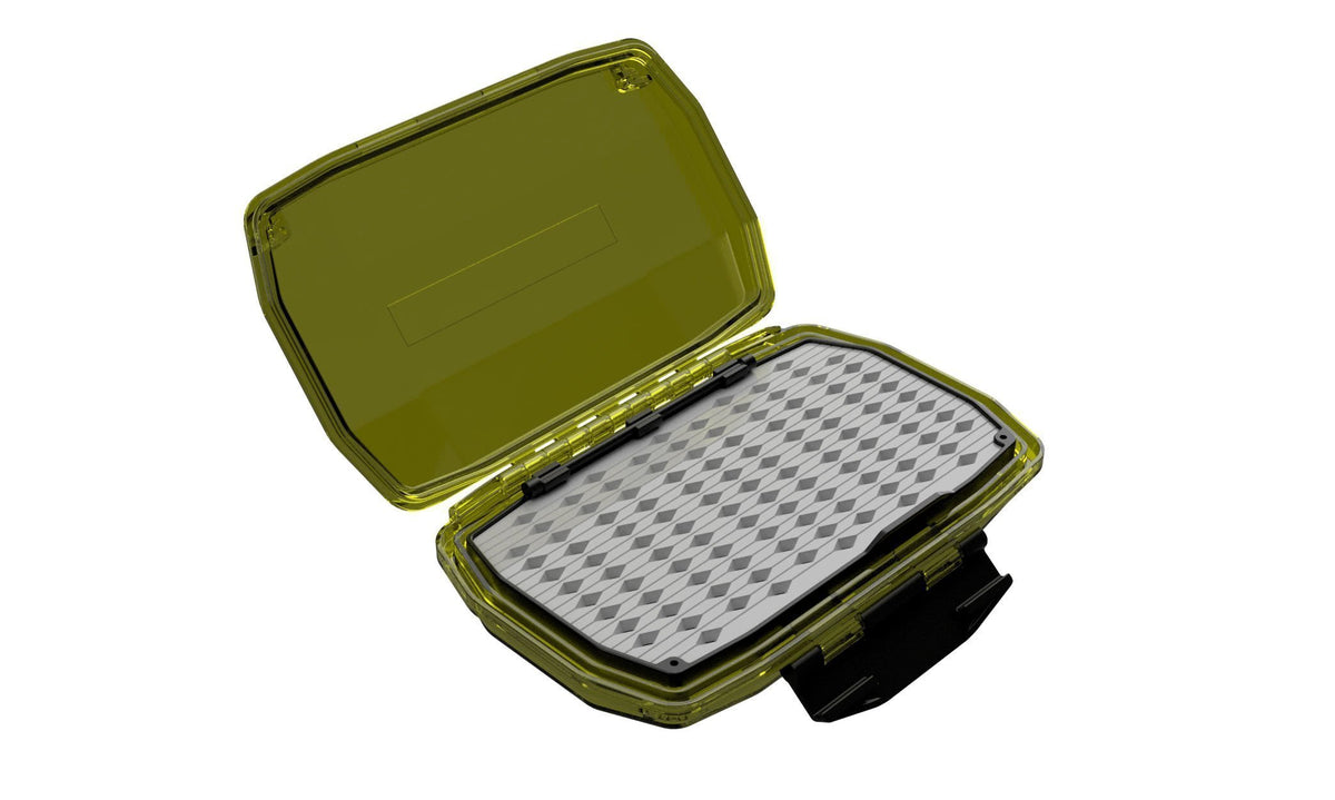 Umpqua UPG HD Medium Fly Box Olive Open
