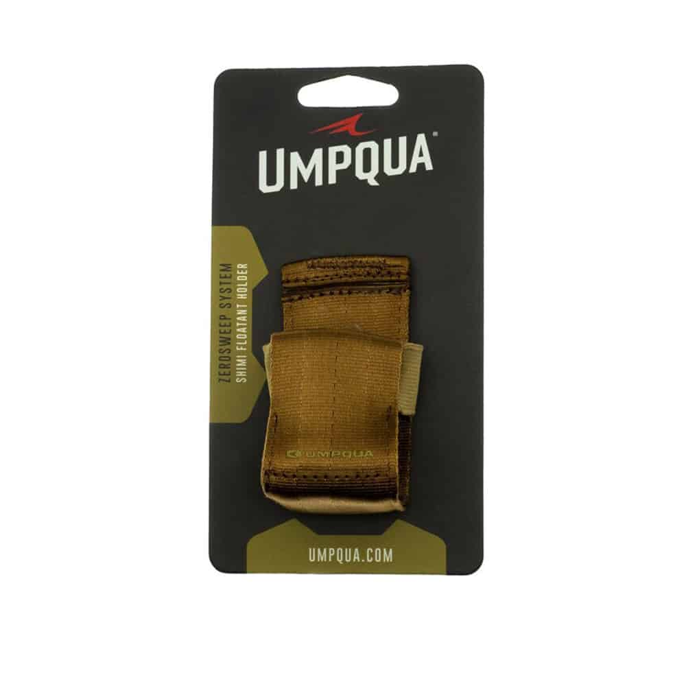 Umpqua ZS2 Shimi Shake Holder Shimazaki Dry Shake Holder Olive Loaded Packaged