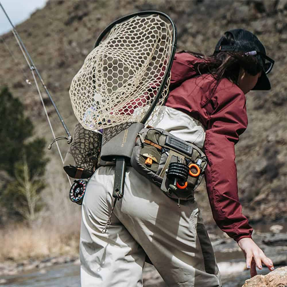 Umpqua ZS2 Wader Fly Fishing Belt Loaded On The Water
