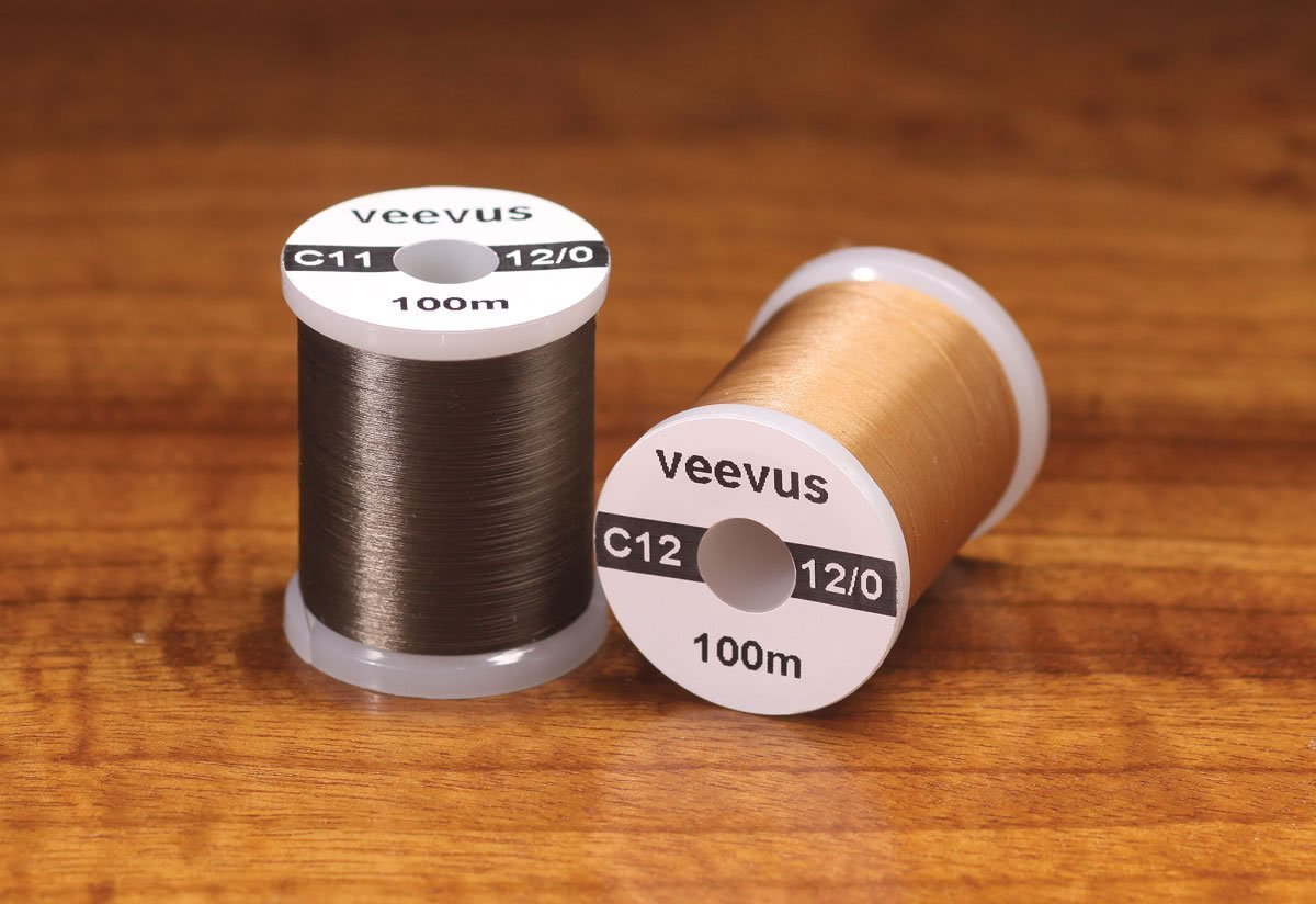 Veevus 12 0 fly tying thread new colors