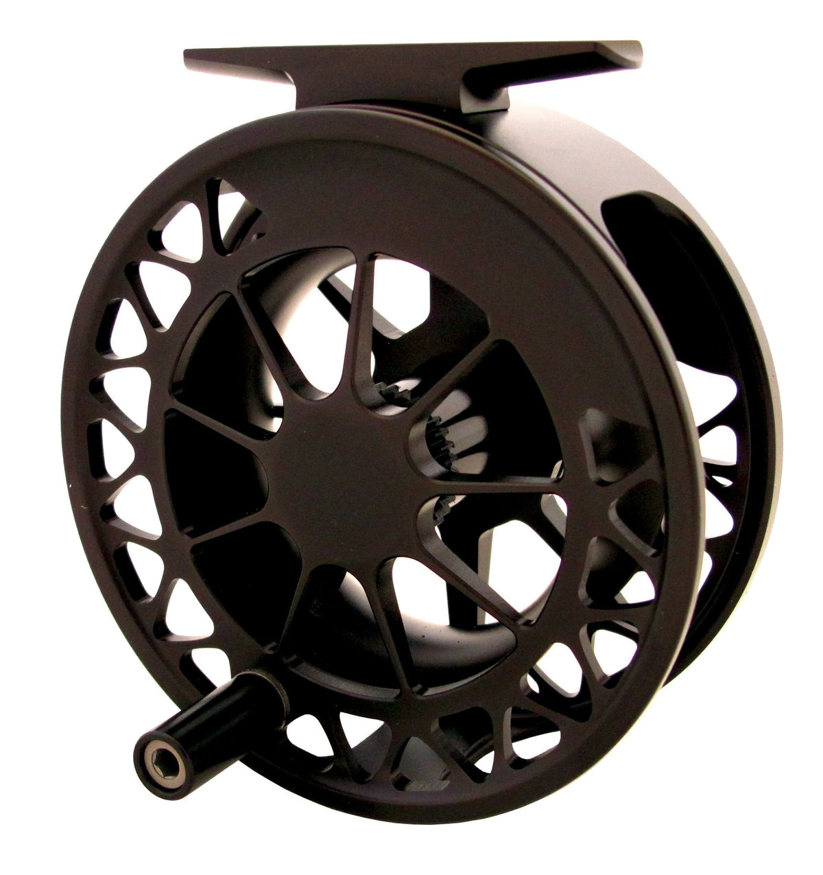 Waterworks Lamson Guru II Special Edition Black spool side