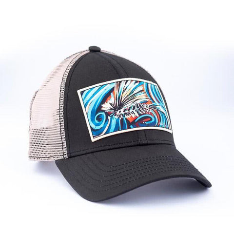 art 4 all by abby paffrath artist series hat dancing caddis right side