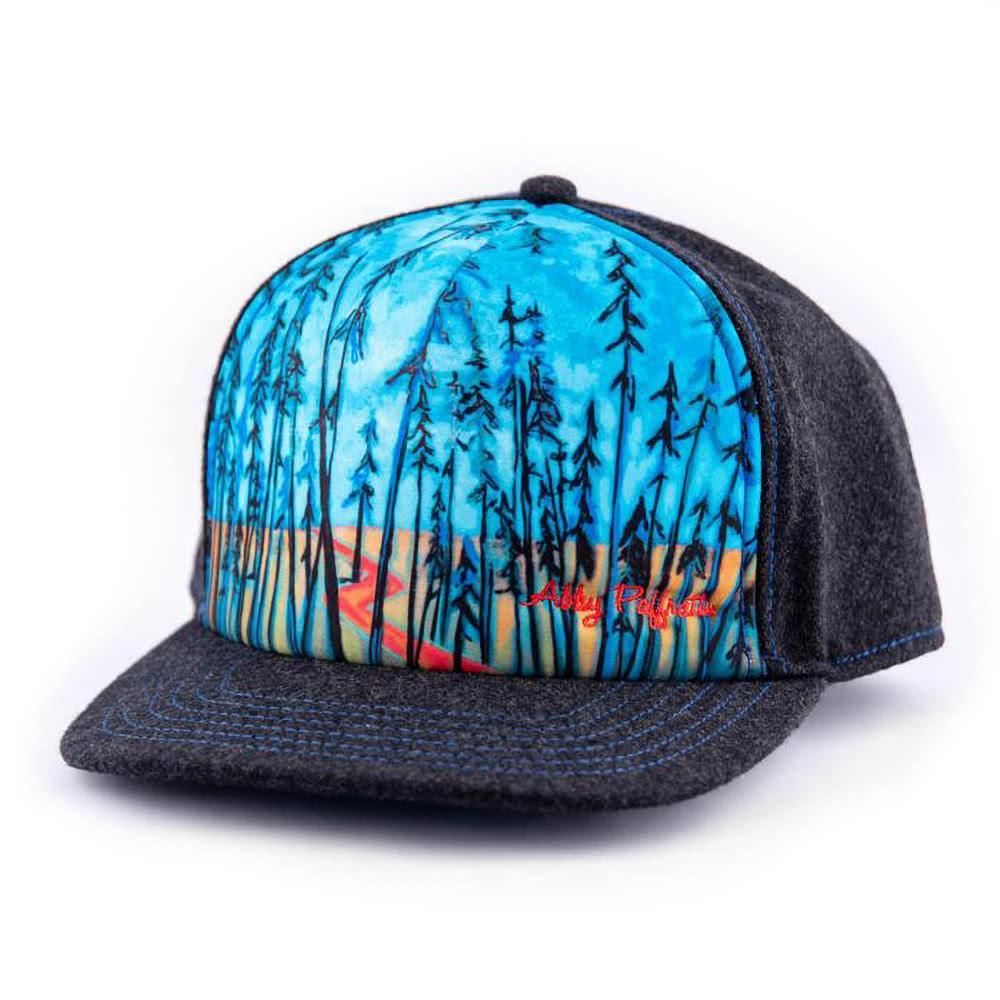 art4all by Abby Paffrath Timber Trails Foam Trucker Hat Side