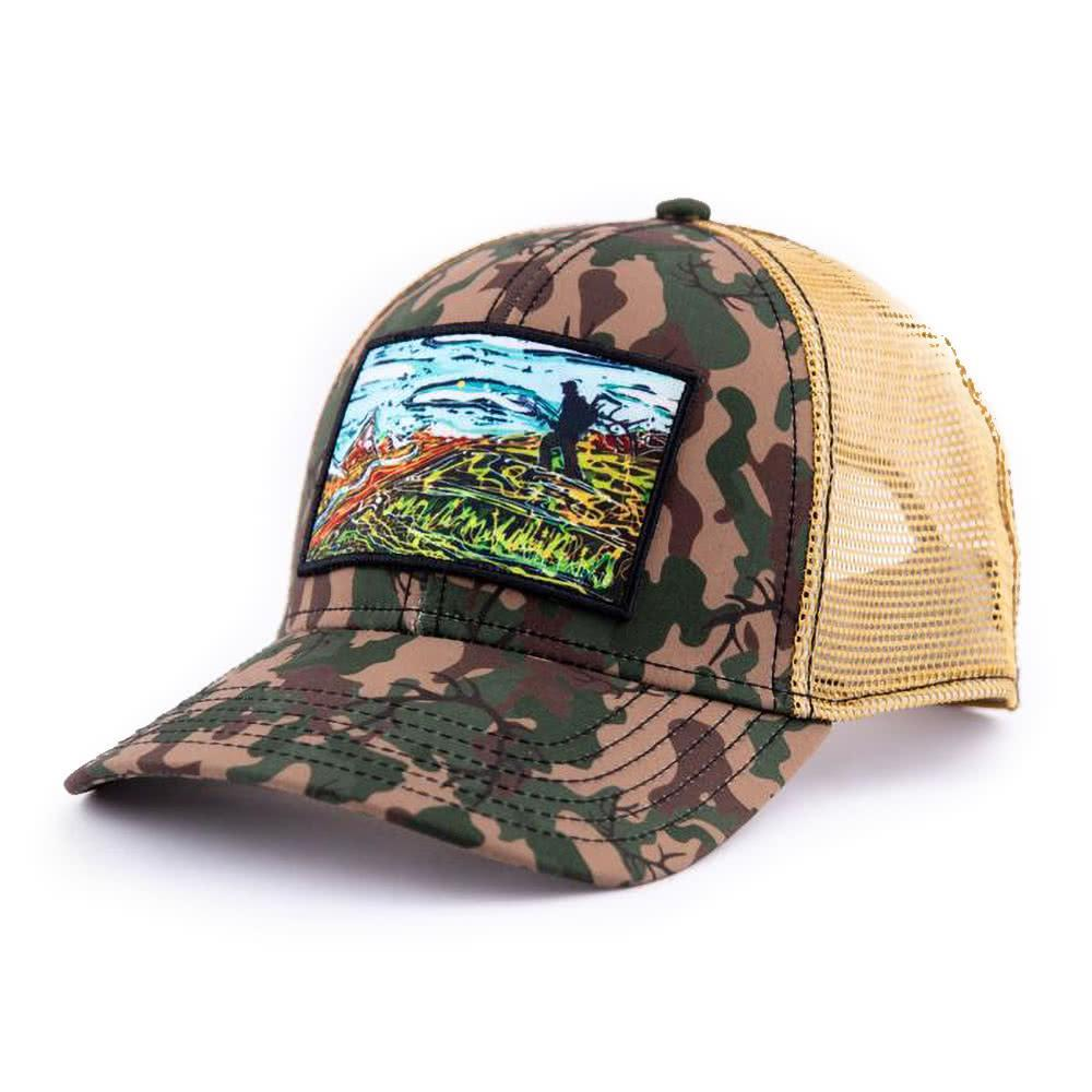 art4all by Abby Paffrath Opening Day Low Profile Trucker Hat Side