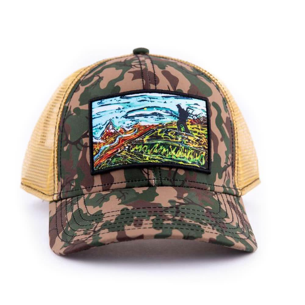 art4all by Abby Paffrath Opening Day Low Profile Trucker Hat