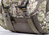 badlands packs sprint hunting backpack approach camo zip out detail