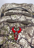 badlands packs sprint hunting backpack approach camo zipper detail