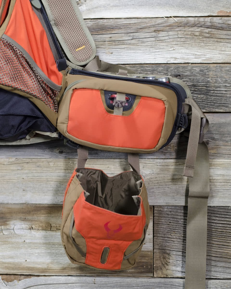 badlands packs upland game vest closeup pockets