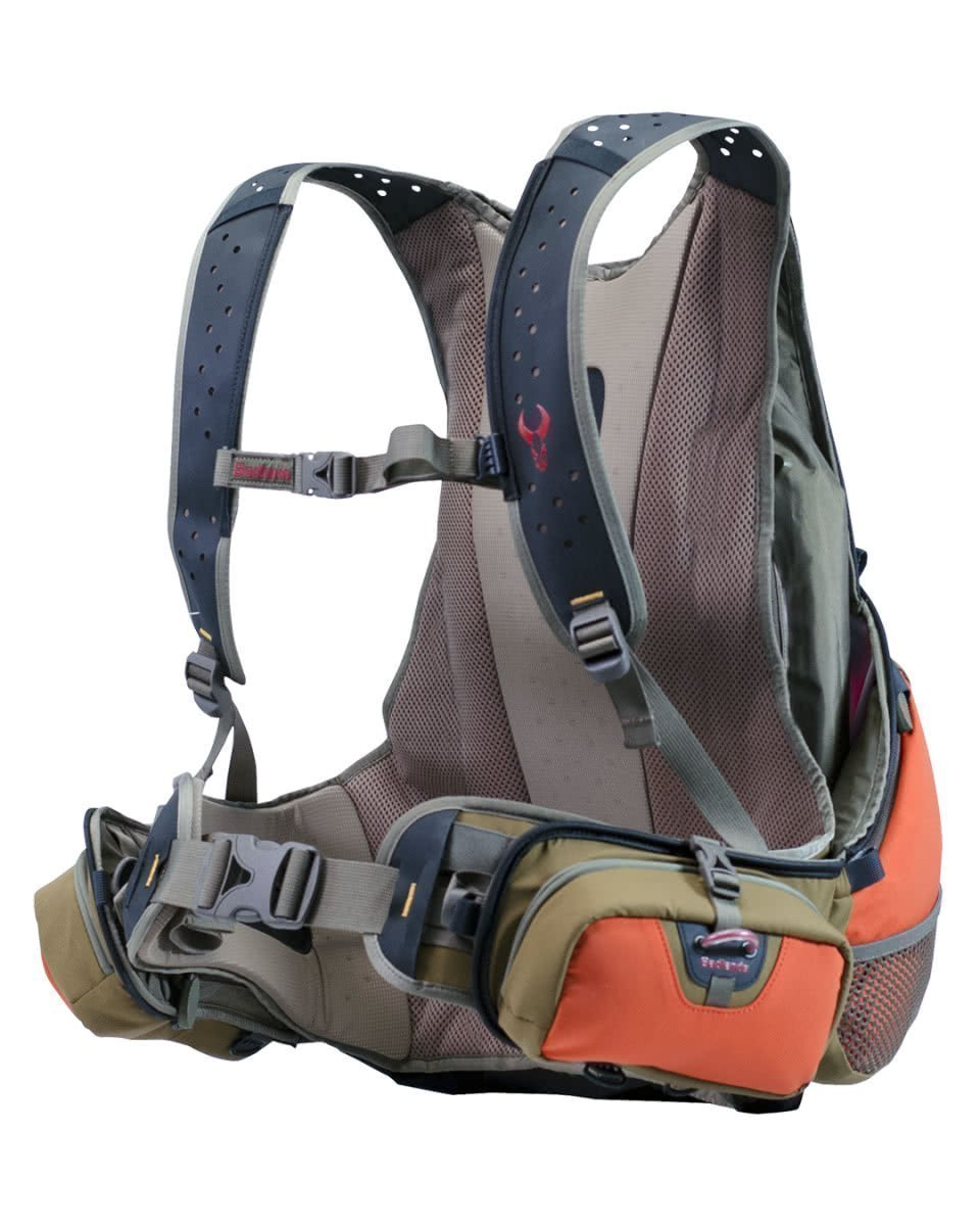 badlands packs upland game vest front
