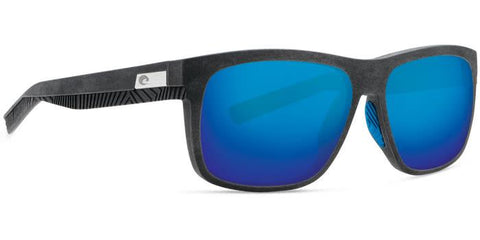 costa baffin uc200b recyled fish net gray with blue rubber blue mirror lens angle4