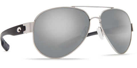 costa south point palladium gray silver mirror lens