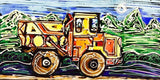 dump truck painting by abby paffrath art 4 all
