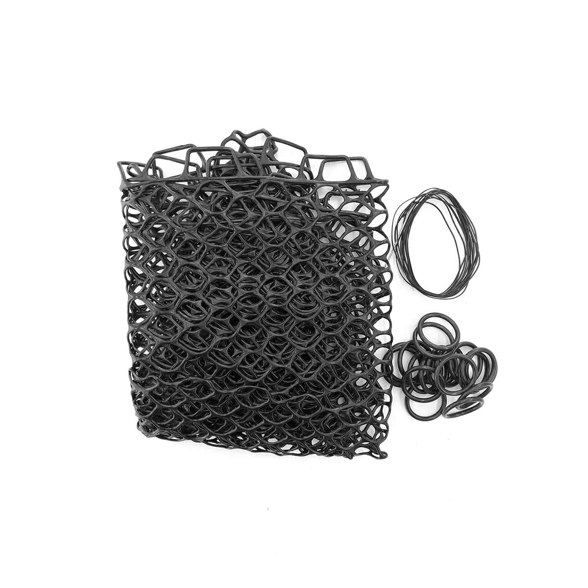 fishpond nomad replacement rubber net 19 inch black large