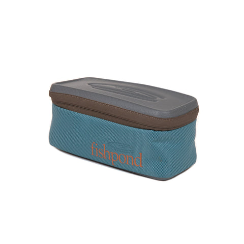 fishpond ripple reel case medium tidal blue