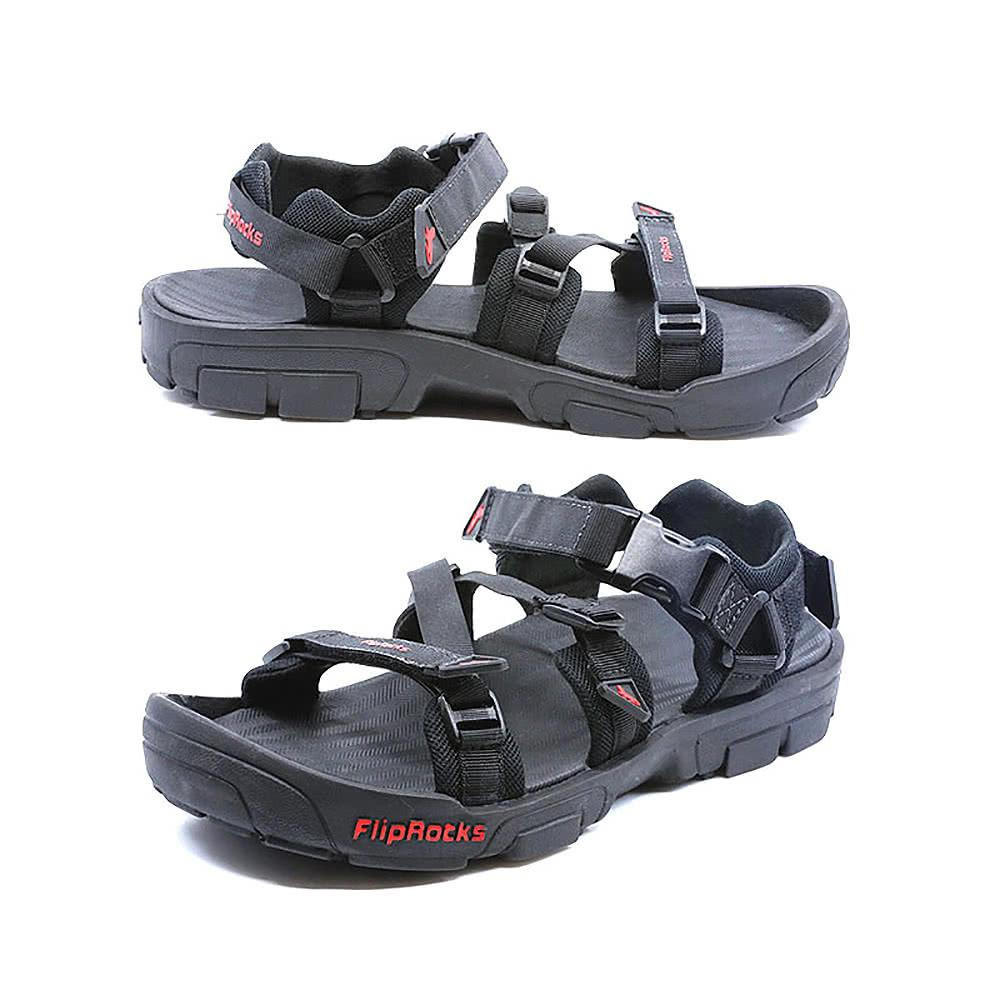 fliprocks ultimate sandal black