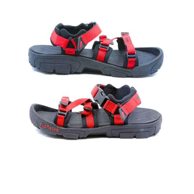 fliprocks ultimate sandal red