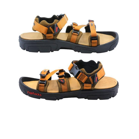 fliprocks ultimate sandal tan 2