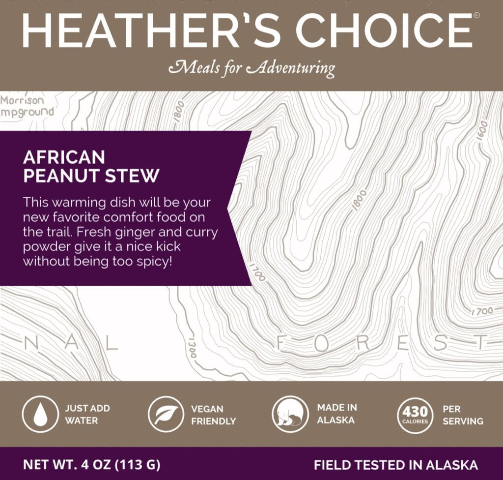 heathers choice african peanut stew dinner meal front package