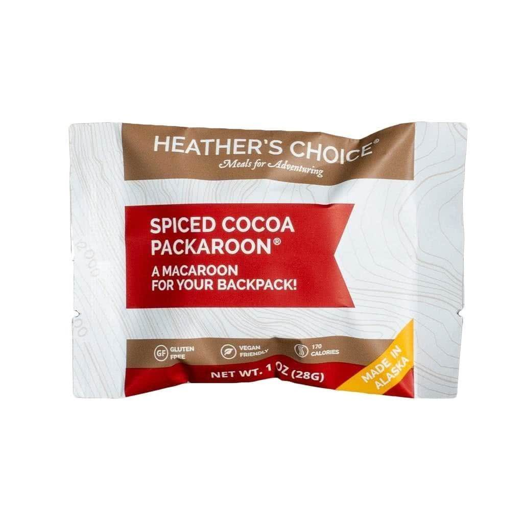 heathers choice spiced cocoa packaroons front